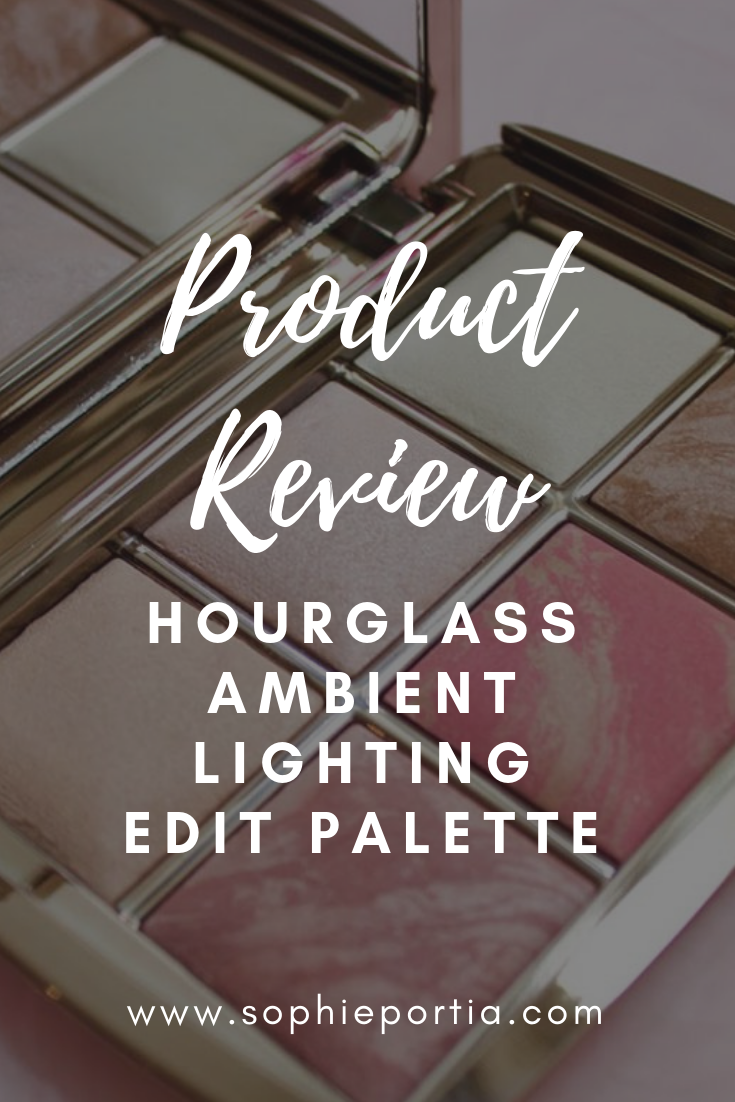 A review of the Ambient Lighting Edit Palette from Hourglass- the perfect compact to try their best products!