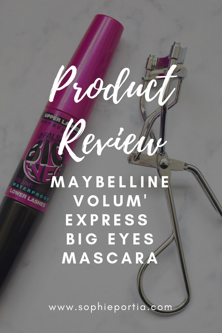 An honest and in depth review of the Maybelline Volum' Express Big Eyes Mascara